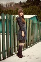 Blowfish Shoes boots - H&M dress - H&M jacket