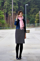 Forever21 skirt - Aldo shoes - H&M jacket