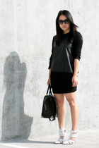 all black everything with alexander wang danica.