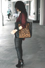 Leopard-toe-asos-bag-black-zara-boots-black-h-m-top