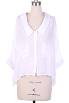 Summer White, Lazy, Breezy Shirt