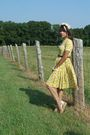 Yellow-handmade-vintage-dress-gold-calvin-klein-shoes-brown-vintage-belt-b