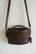 brown vintage Coach purse