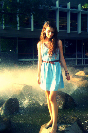 light blue Urban Outfitters dress