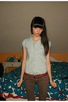 shirt - pants - belt - shoes