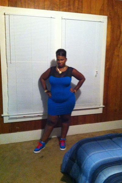 blue body dress Forever 21 dress