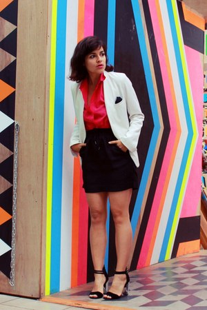 Zara blazer - COS skirt