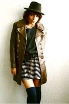 H&M dress - vintage coat