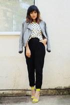 H&M shoes - Top Shop jacket