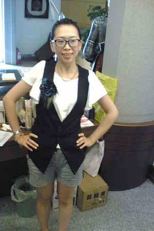 from Korea top - from Korea vest - sample form work accessories - calvin klein g