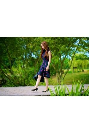 Love Culture hair accessory - H&M dress - balenciaga bag - Nine West heels
