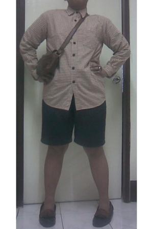 shirt - shorts - purse - Dockers shoes - Embellish accessories