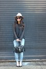 Gap-jeans-neutral-floppy-fedora-topshop-hat