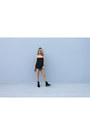 Black-ankle-boots-finery-boots-blue-denim-shorts-oasap-shorts