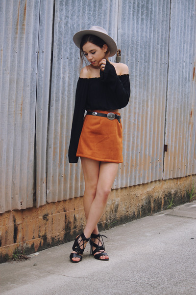 Burnt Orange Skirt - How to Wear and Where to Buy | Chictopia
