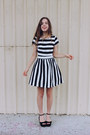 Black-wedges-jo-mercer-shoes-black-striped-lulus-dress
