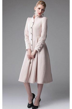 beige wool Vilanya coat