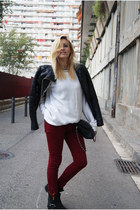 Zara jeans - Zara jacket - H&M jumper