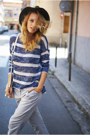 Zara hat - Primark shirt - Topshop pants