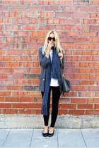 Primark scarf - Topshop blazer - Topman shirt - Topshop bag - Zara panties