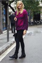 Bershka jumper - Nelly boots - Zara jeans