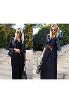H&M dress - Zara jacket - Topshop belt