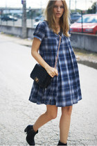 Nelly boots - Topshop dress - Romwecom bag