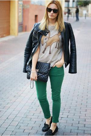Zara jeans - Zara jacket - Zara jumper