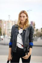 Topshop jacket - Zara jeans - Choies shirt