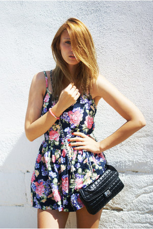 Topshop dress - Topshop bag
