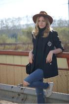 Ralph Laurent blazer - Topshop shoes - Topshop jeans - Sfera hat