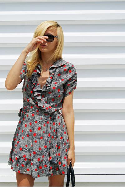 Topshop dress - Nine West heels