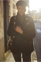 PERSUNMALL coat - Topshop jeans - Romwecom bag