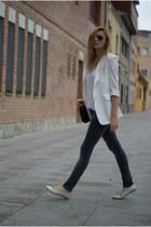 She Inside blazer - H&M jeans - Topshop flats