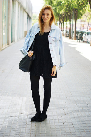 H&M dress - Levis jacket