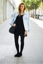 H&M dress - Levis jacket