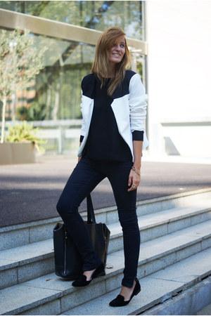 Romwecom jacket - Zara jeans - Zara flats