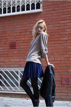Topshop coat - H&M skirt