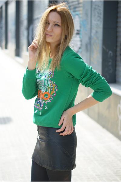 Choies jumper - H&M Trend skirt