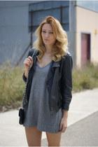 Zara dress - Topshop jacket