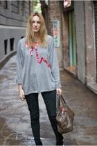 Topshop jumper - Zara jeans
