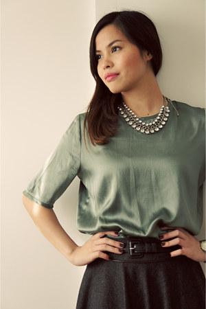 Primark skirt - Mango top