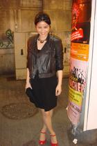 Mango jacket - H&M dress - Zara shoes