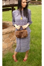 blue VintageDress dress