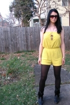 Canary Yellow Romper Onesie Jumper