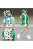 DropDead skirt - YRU boots - Vidakush hat - MIPAC bag