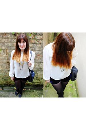 velvet vintage shorts