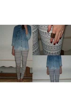 H&M leggings - Aldo ring