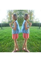 coral H&M dress