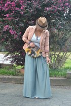 olive green polyester Mossimo skirt